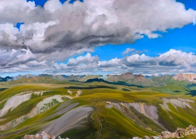 Diptych landscape Colorado